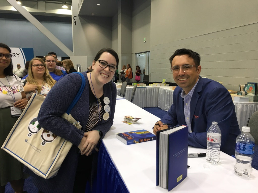 author book signing photo